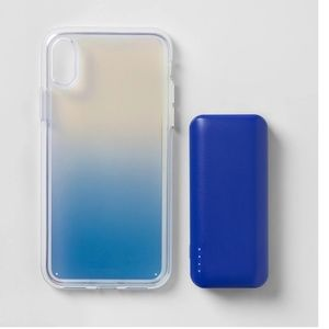 🔥3 for $25🔥iPhone X/XS Case w/ Power Bank